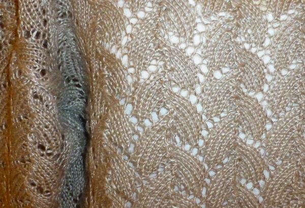 Detaljer av mønsteret i lingenseren
