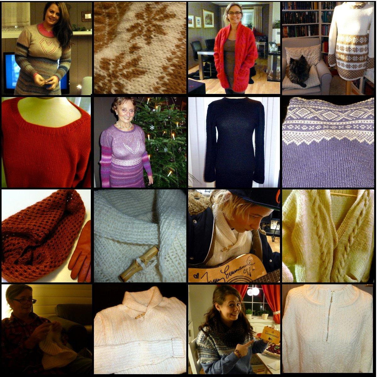 strikkeprosjekter