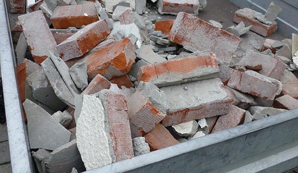 Restene av gammelpeisen som nå er borte