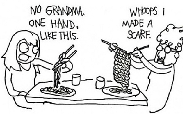 knitting-grandma