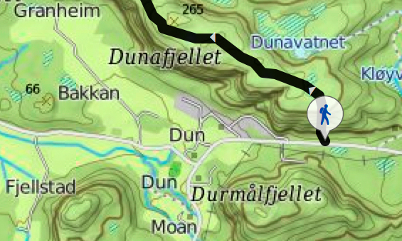 kart-dunafjellet