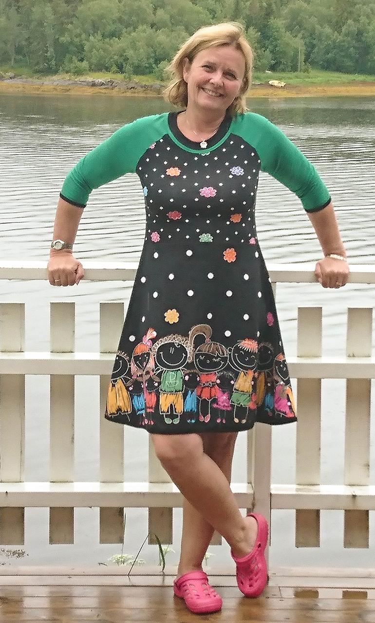 Margot Terry | kjole eksempler syning | Kjoler, Kjole og